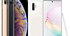 Samsung Galaxy Note 10 vs Apple iPhone XS Max